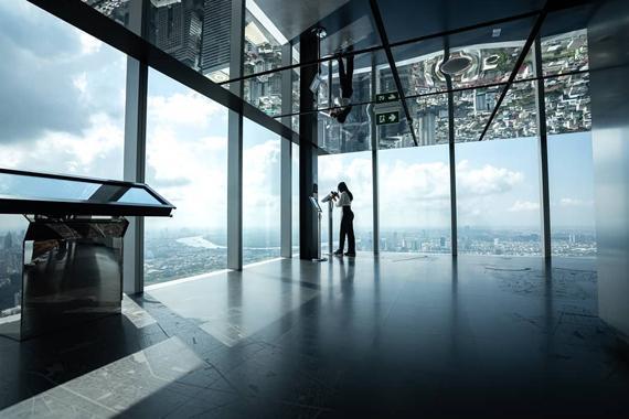 Mahanakhon Skywalk, điểm đến không dành cho người yếu tim ở Bangkok