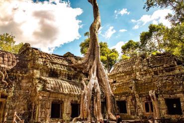 Ngôi đền hơn 800 tuổi ở Campuchia